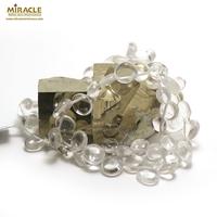 "collier cristal de roche ""Ts baroque"""