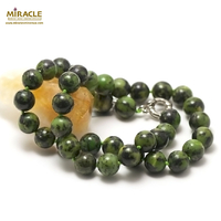 """collier chrysoprase """"perle ronde 12 mm"""""""
