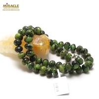 """collier chrysoprase """" rondelle 10 x6 mm"""",pierre naturelle"""
