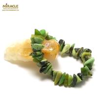"bracelet chrysoprase ""grand chips"""