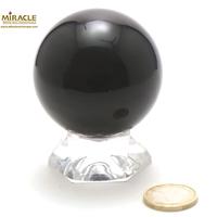 Magnifique sphère minéraux en obsidienne oeil céleste 5,5 cm