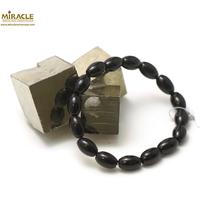 "Bracelet onyx ""olive 12x8 mm"""