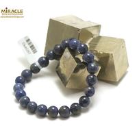 "bracelet dumortierite, perle ""ronde 8 mm"""