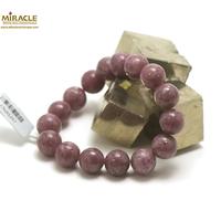 """bracelet Lépidolite, perle """"ronde 12 mm"""""""