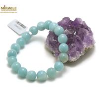 "bracelet amazonite, perle ""ronde 10 mm"""