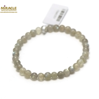 "bracelet labradorite, perle ""ronde 6 mm"""
