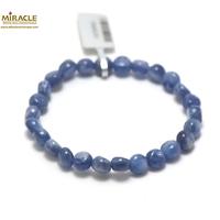 """bracelet cyanite, perle """"mini palet rond"""""""
