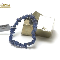 "bracelet cyanite, perle ""chips"""