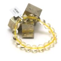 "bracelet citrine ""ronde 10 mm"""