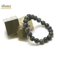 "Bracelet larvikite, perle ""ronde 10 mm"""