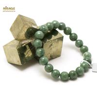 """bracelet jade, perle """"ronde 8 mm"""", vert marbre"""