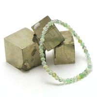 "bracelet préhnite ""ronde 4 mm"""