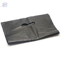 20 grands sacs cadeaux  33x25 cm, noir