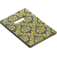 """50 sacs cadeaux """"arabesque"""" 19x12 cm, noir/vert"""