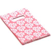 """50 sacs cadeaux """"feuille"""" 19x12 cm, rose"""