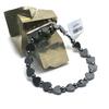 """bracelet hématite , """" mini coeur - rondelle hexagonale"""""""