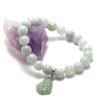 """bracelet jade , pendentif """" bouddha"""""""