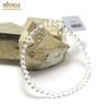 """Bracelet cristal de roche , """"perle ronde 4 mm"""""""