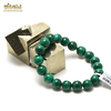 "bracelet malachite "" perle ronde 10 mm"""
