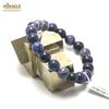 "bracelet sodalite ""perle ronde 10 mm"""
