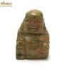 """statuette minéraux """" bouddha"""" en pierre naturelle d'unakite"""