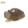 """statuette minéraux """"tortue"""" en pierre naturelle d'agate gris"""