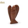 """Magnifique statuette """"ange""""  en pierre naturelle de pierre de soleil"""