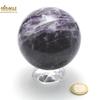Magnifique sphère minéraux en charoïte 7,5 cm