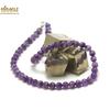 """collier améthyste """"perle ronde facettée 6 mm """", pierre naturelle"""