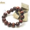 """bracelet oeil de taureaux, perle """"ronde 14 mm"""""""