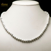 """Collier howlite, """"perle ronde 6 mm"""""""