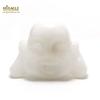 """Magnifique statuette """"tête de bouddha"""" en pierre naturelle de jade blanc"""