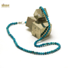 """collier turquoise """" perle ronde 4 mm"""""""