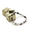 """bracelet quartz tourmaline """"ronde 6 mm"""""""