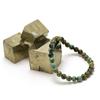 """bracelet turquoise d'afrique """"perle ronde 6 mm"""""""