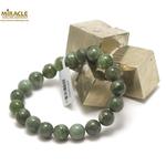 ronde 10 mm  bracelet en pierre naturelle de jade néphrite de canada