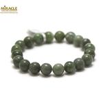 ronde 10 mm 1 bracelet en pierre naturelle de jade néphrite de canada