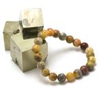 ronde 8 mm 1 bracelet en pierre naturelle dagate crazy lace