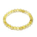 ronde 6 mm 1 bracelet en pierre naturelle de quartz rutile