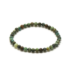 ronde 4 mm bracelet en pierre naturelle de turquoise dafrique