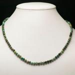 ronde 4 mm collier en pierre naturelle de turquoise dafrique
