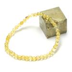 ronde 4 mm bracelet en pierre naturelle de citrine