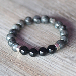 bracelet homme onyx larvikite 1