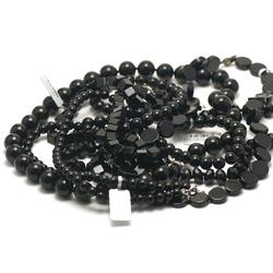 1 collier pierre naturelle onyx