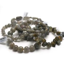 1 bracelet en pierre naturelle de labradorite