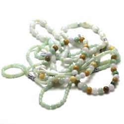 1 collier pierre naturelle de Jade