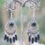 Apprêt chandelier 1 boucle doreille pierre naturelle onyx