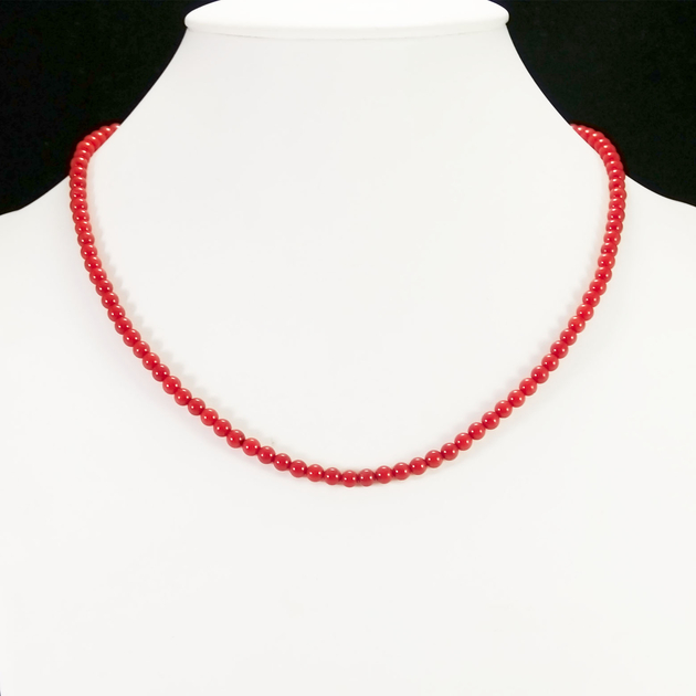 collier perle 4 mm