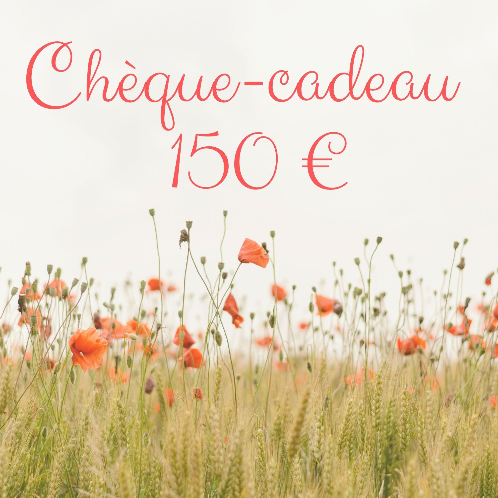 Chèque-cadeau 150 €