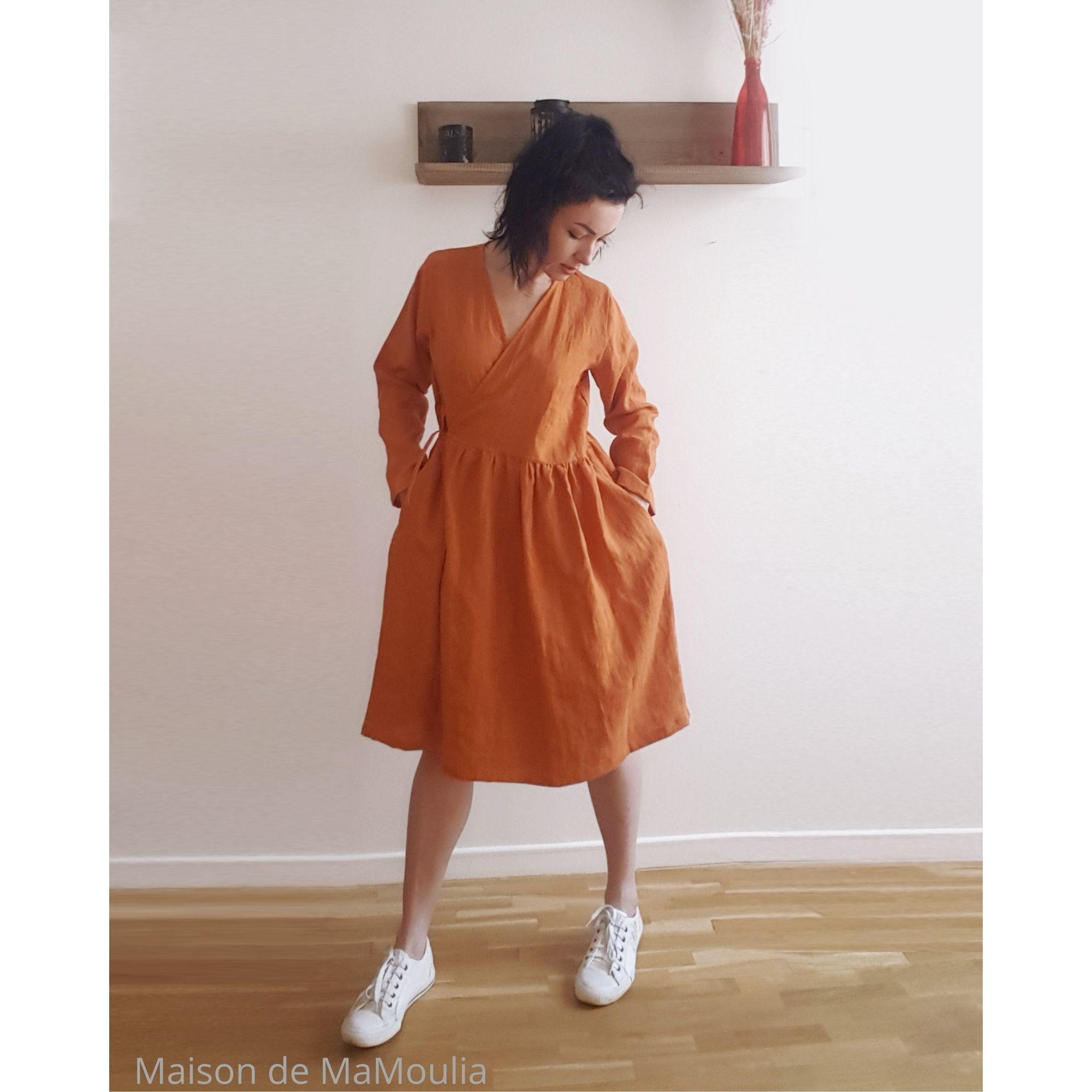 robe-cache-coeur-wrap-femme-pur-lin-lave-simplygrey-maison-de-mamoulia-rouille-orange-ocre
